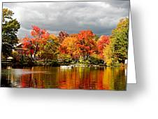 Autumn Storm Coming Greeting Card