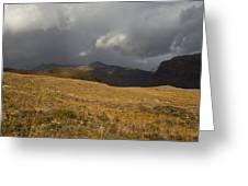 Autumn Storm Greeting Card