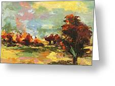 Autumn Sunlight Greeting Card