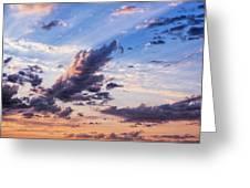 Autumn Sunrise 2 - Lyme Regis Greeting Card