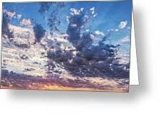 Autumn Sunrise - Lyme Regis Greeting Card