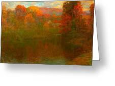 Autumn Symphony Greeting Card