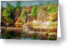 Autumn Tapestry Greeting Card
