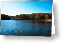 Autumn The In Loess Hills Greeting Card
