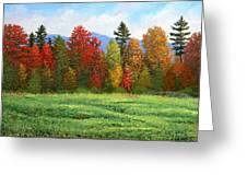 Autumn Trees Greeting Card