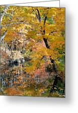 Autumn Vintage Landscape 6 Greeting Card