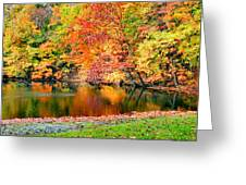 Autumn Warmth Greeting Card