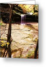 Autumn Waterfall II Greeting Card