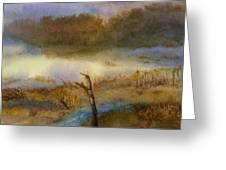 Autumn Wetlands Greeting Card