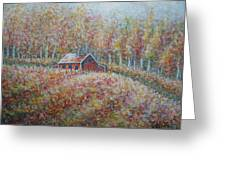 Autumn Whisper. Greeting Card