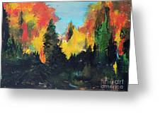 Autumnal Colors Greeting Card
