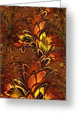 Autumnal Glow Greeting Card