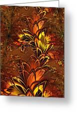 Autumnal Glow Greeting Card