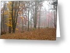 Autumnal Mist Greeting Card