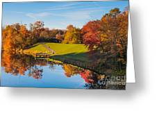 Autumnal Scene Greeting Card