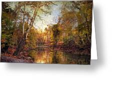 Autumnal Tones 2 Greeting Card