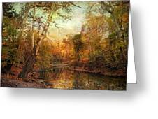 Autumnal Tones Greeting Card