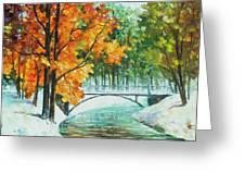 Autumn's End Greeting Card