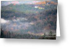 Autumns Fading Color Greeting Card