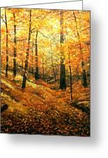 Autumns Hidden Sanctuary Greeting Card