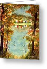 Autumn's Peaceful Abode  Greeting Card