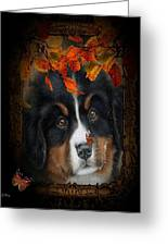 Autumn's Pup Greeting Card