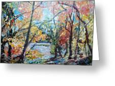 Autumn's Splendor Greeting Card