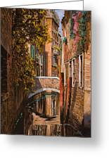 autunno a Venezia Greeting Card