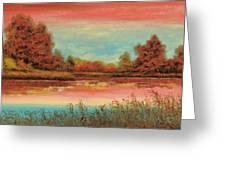 Autunno Sul Lago Greeting Card