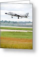 Av-8 Harrier Greeting Card