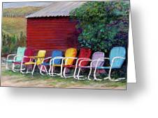 Available Seating Greeting Card