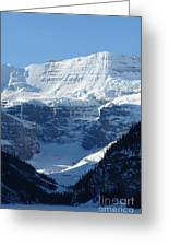 Avalanche Ledge Greeting Card