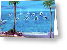 Avalon On Catalina Greeting Card