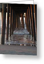 Avalon Pier At 32nd Street Greeting Card