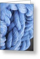Avatar Blue Rope Greeting Card