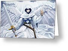 Avenging Angel Greeting Card