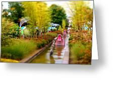 Avenue Of Dreams 4 Greeting Card