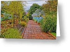 Avenue Of Dreams 5 Greeting Card