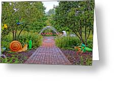 Avenue Of Dreams 6 Greeting Card