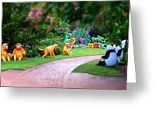 Avenue Of Dreams 9 Greeting Card