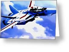 Aviation Art Catus 1 No. 1 19 H B Greeting Card