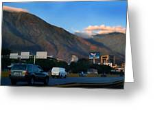 Avila From The Highway Greeting Card