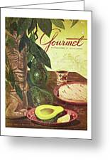 Avocado And Tortillas Greeting Card