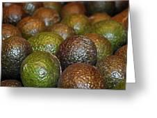 Avocados Greeting Card