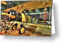 Avro 504k Greeting Card