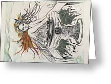 Awakened Greeting Card