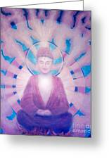 Awakening Buddha Greeting Card