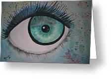Awakening Eye Greeting Card