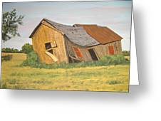 Award-winning Original Acrylic Painting - Now I Lay Me Down To Sleep Greeting Card