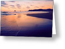 Awesome Zipolite Sunset 2 Greeting Card
